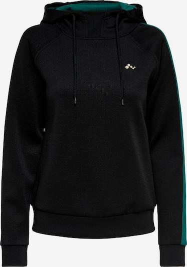 ONLY PLAY Sportief sweatshirt in de kleur Groen / Zwart / Wit: Vooraanzicht