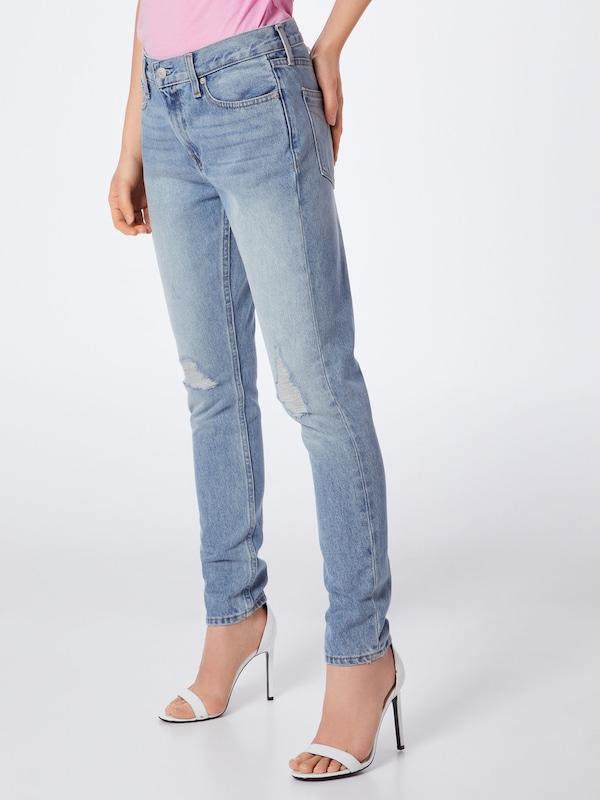 Bleu Mid Calvin 021 Klein 'ckj Jean Slim' En Jeans Denim Rise Nvn0m8w