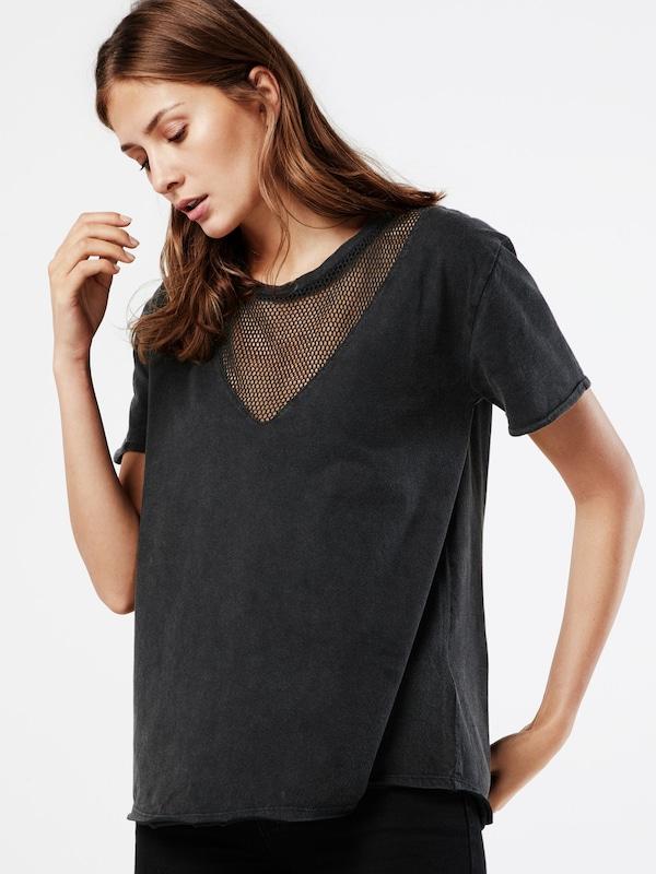 Review T-Shirt 'MESH INSERT'