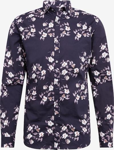 JACK & JONES Koszula 'BOSTON' w kolorze granatowy / szary / białym, Podgląd produktu