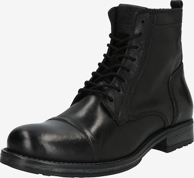 JACK & JONES Stiefel in anthrazit / schwarz, Produktansicht