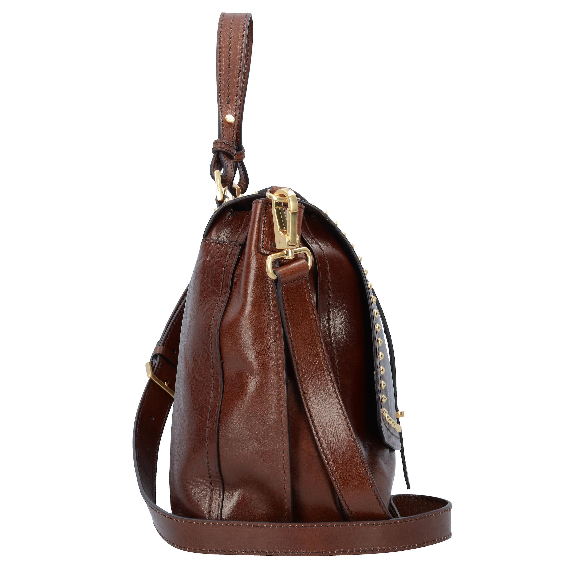 The Bridge Rock Handtasche Leder 36 cm Für Schöne Online Offizieller Online-Verkauf Verkauf Visum Zahlung 1meCUm6A