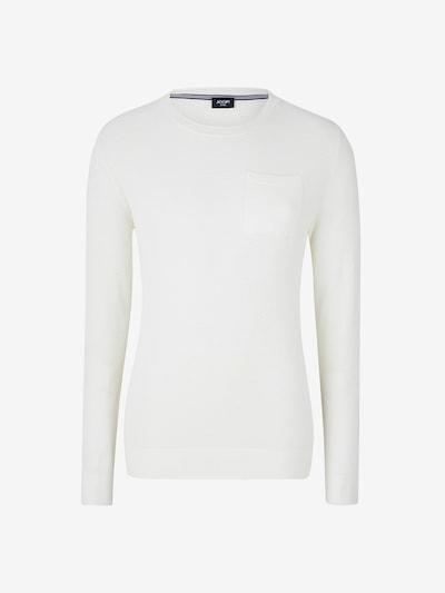 JOOP! Jeans Pullover ' Steyn ' in weiß, Produktansicht