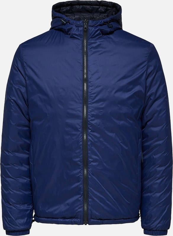 SELECTED HOMME Jacke in blau  Großer Rabatt