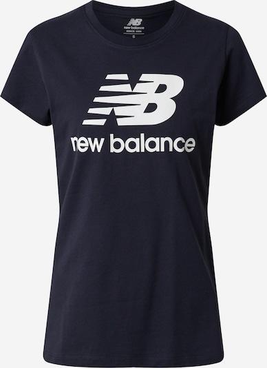 new balance T-shirt en noir, Vue avec produit