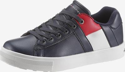 TOMMY HILFIGER Sneaker in navy / hellrot / weiß, Produktansicht