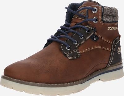 Dockers by Gerli Šněrovací boty - hnědá / černá, Produkt