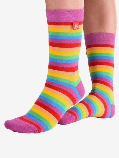 Tag SOCKS Socken 'Stars & Stripes' in mischfarben, Modelansicht
