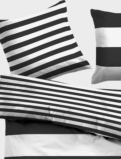 TOM TAILOR Bettwäsche in schwarz / weiß, Produktansicht
