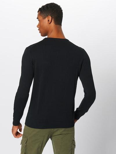 Megztinis iš ESPRIT , spalva - juoda: Vaizdas iš galinės pusės