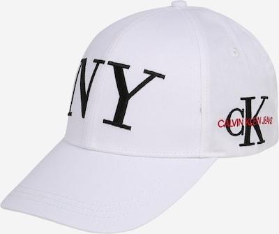 Calvin Klein Jeans Šilterica 'NY' u crvena / crna / bijela, Pregled proizvoda