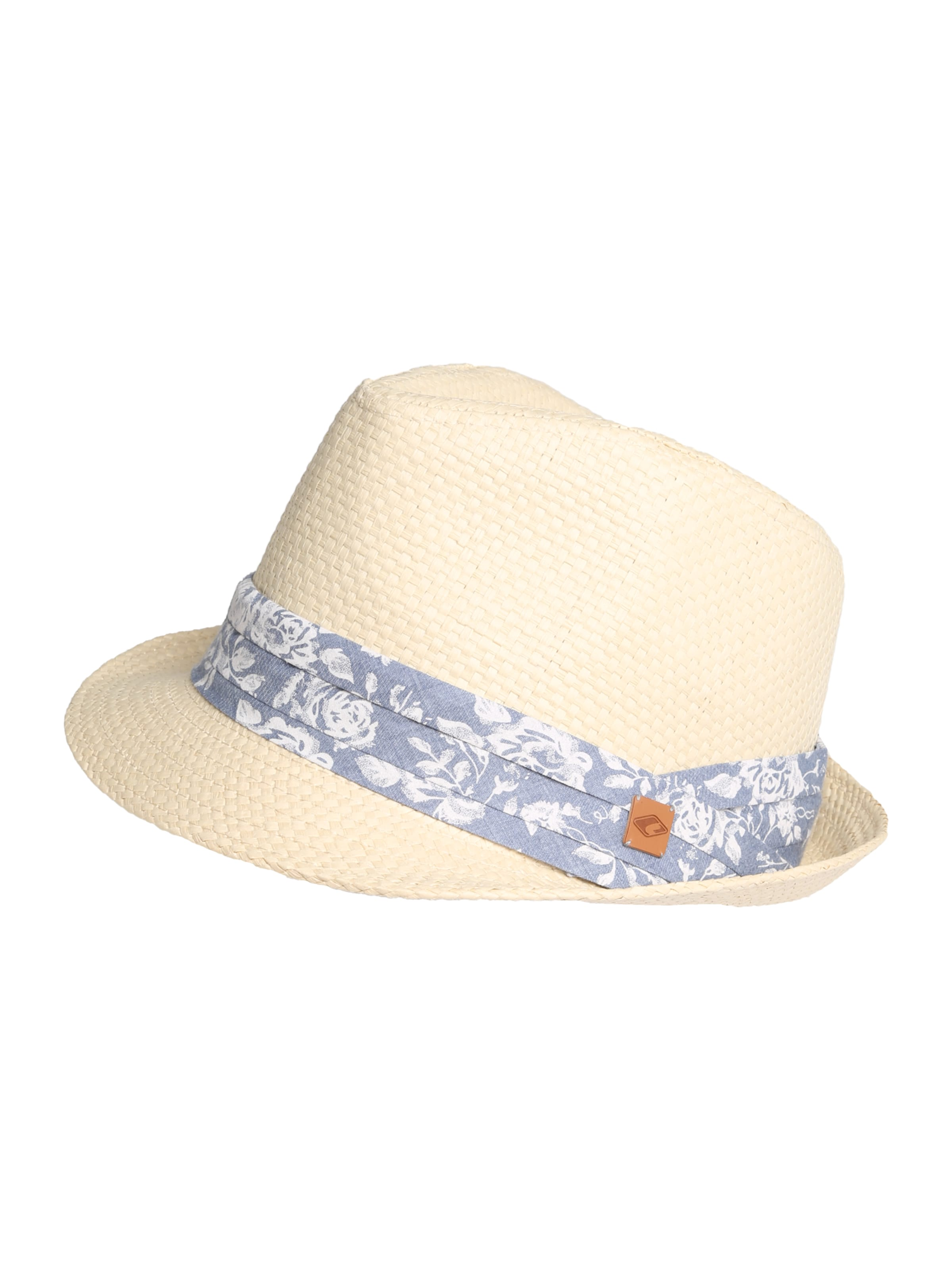 Trilby BeigeBlau In Strohhut Chillouts 'minneapolis' mNn08vw