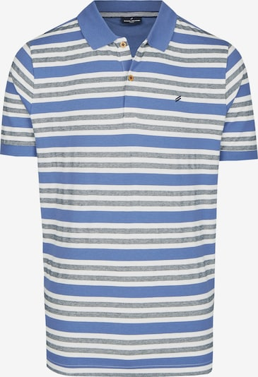 DANIEL HECHTER Shirt in creme / blau, Produktansicht