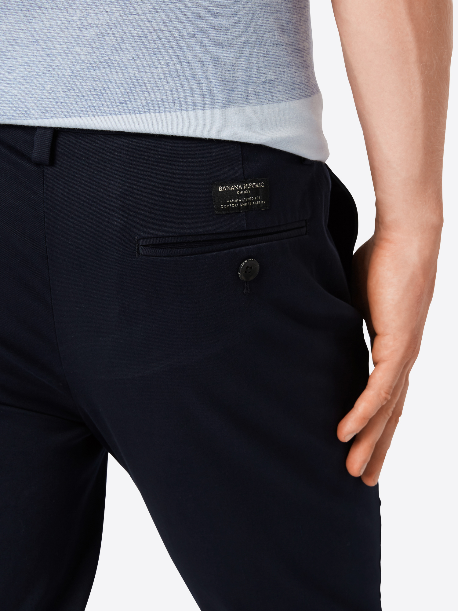 Banana Republic Chino 'FULTON RMC' in Navy dR7R0Zsx