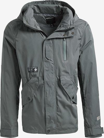 khujo Jacke SCUTI in grau / schwarz / weiß, Produktansicht