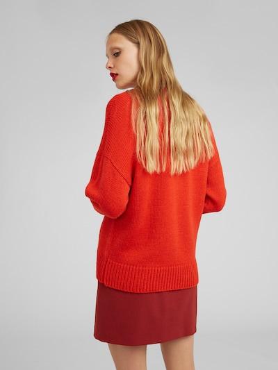 Megztinis 'Loretta' iš EDITED , spalva - raudona: Vaizdas iš galinės pusės