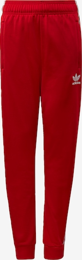 ADIDAS ORIGINALS Hlače 'SST' | rdeča / bela barva, Prikaz izdelka