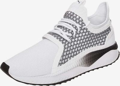 PUMA Sneaker 'Tsugi Netfit V2' in anthrazit / weiß: Frontalansicht