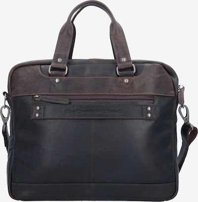 The Chesterfield Brand by Thomas Hayo Document Bag 'Jovi' in Brown / Black, Item view