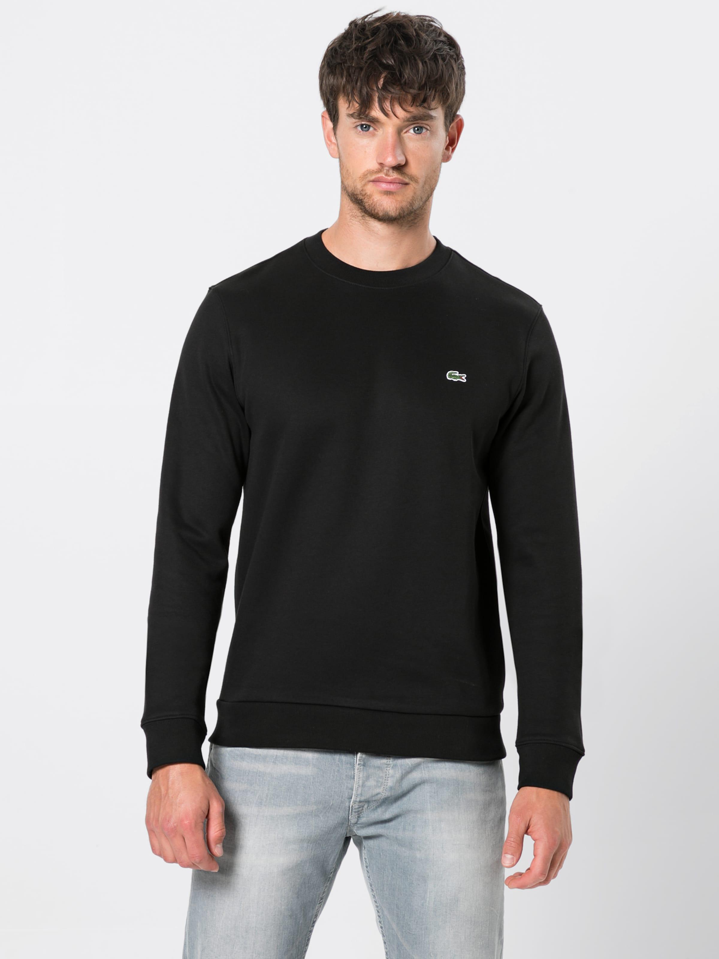 shirt Lacoste Sweat Sweat shirt Noir En Lacoste OZTPkwiuX
