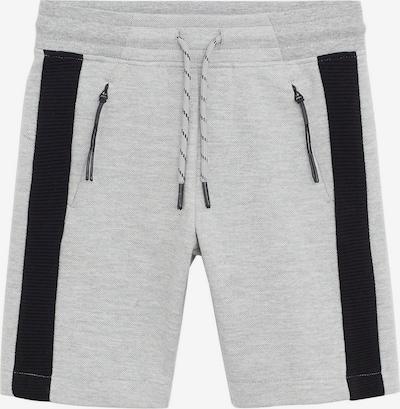 MANGO KIDS Shorts 'BRYAN' in anthrazit / graumeliert, Produktansicht