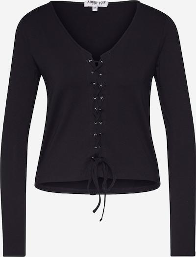 ABOUT YOU Shirt 'Nele' in de kleur Zwart, Productweergave
