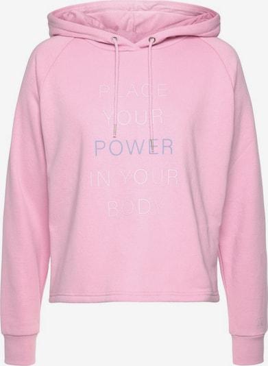 LASCANA ACTIVE Sweatshirt in rosa, Produktansicht