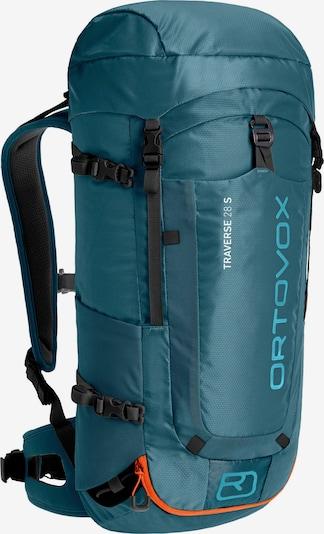 ORTOVOX Wanderrucksack 'Traverse 28 S' in aqua / blaumeliert, Produktansicht
