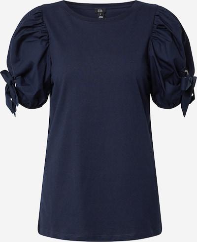 River Island T-shirt en bleu marine: Vue de face