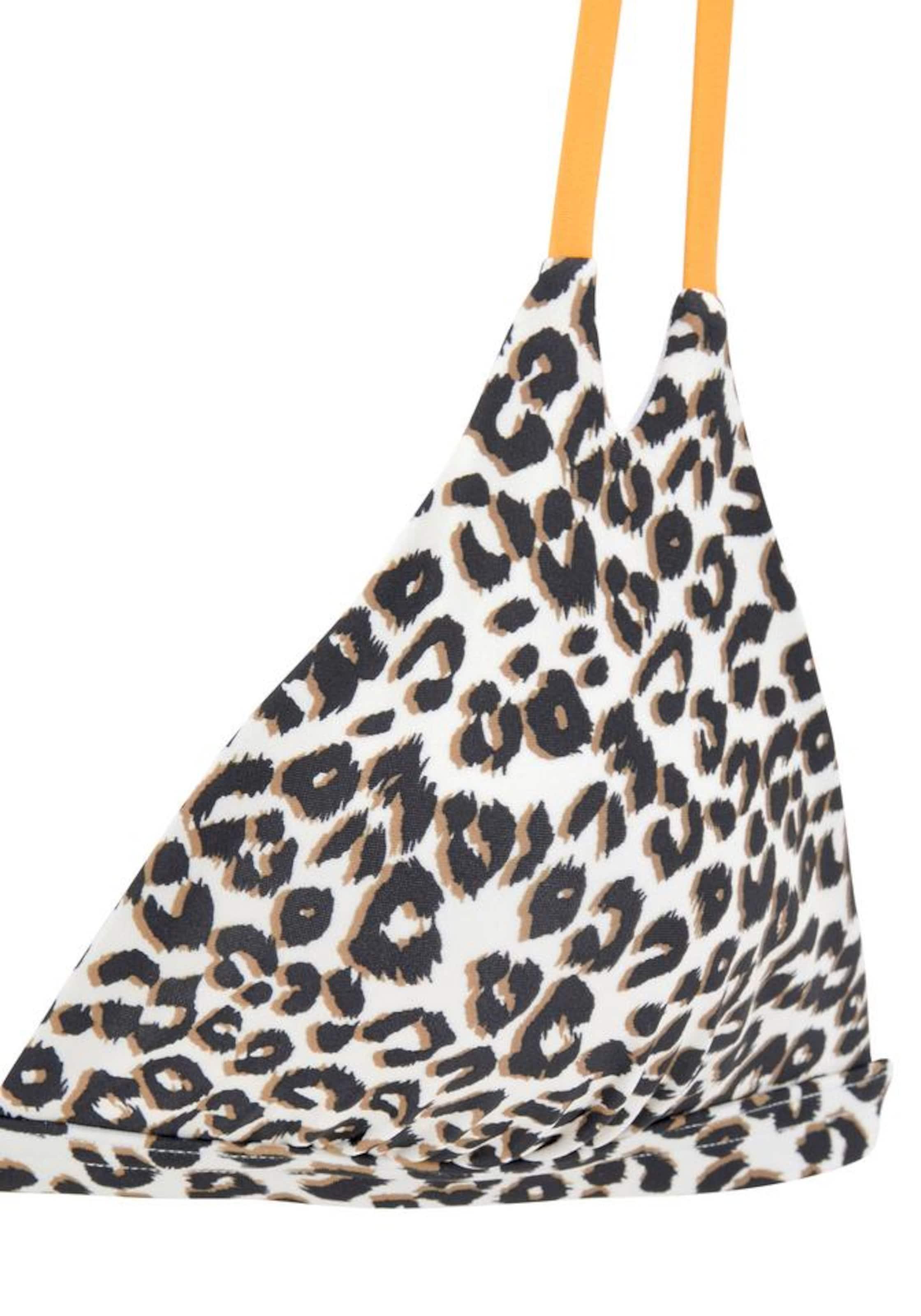 BUFFALO Bikinitop 'Kitty' in beige / braun