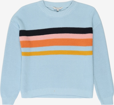 REVIEW FOR TEENS Pullover  'TG-19-K701' in hellblau / orange / rosa, Produktansicht