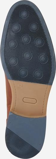 BULLBOXER Halbhoher Schnürschuh in braun: Ansicht von unten