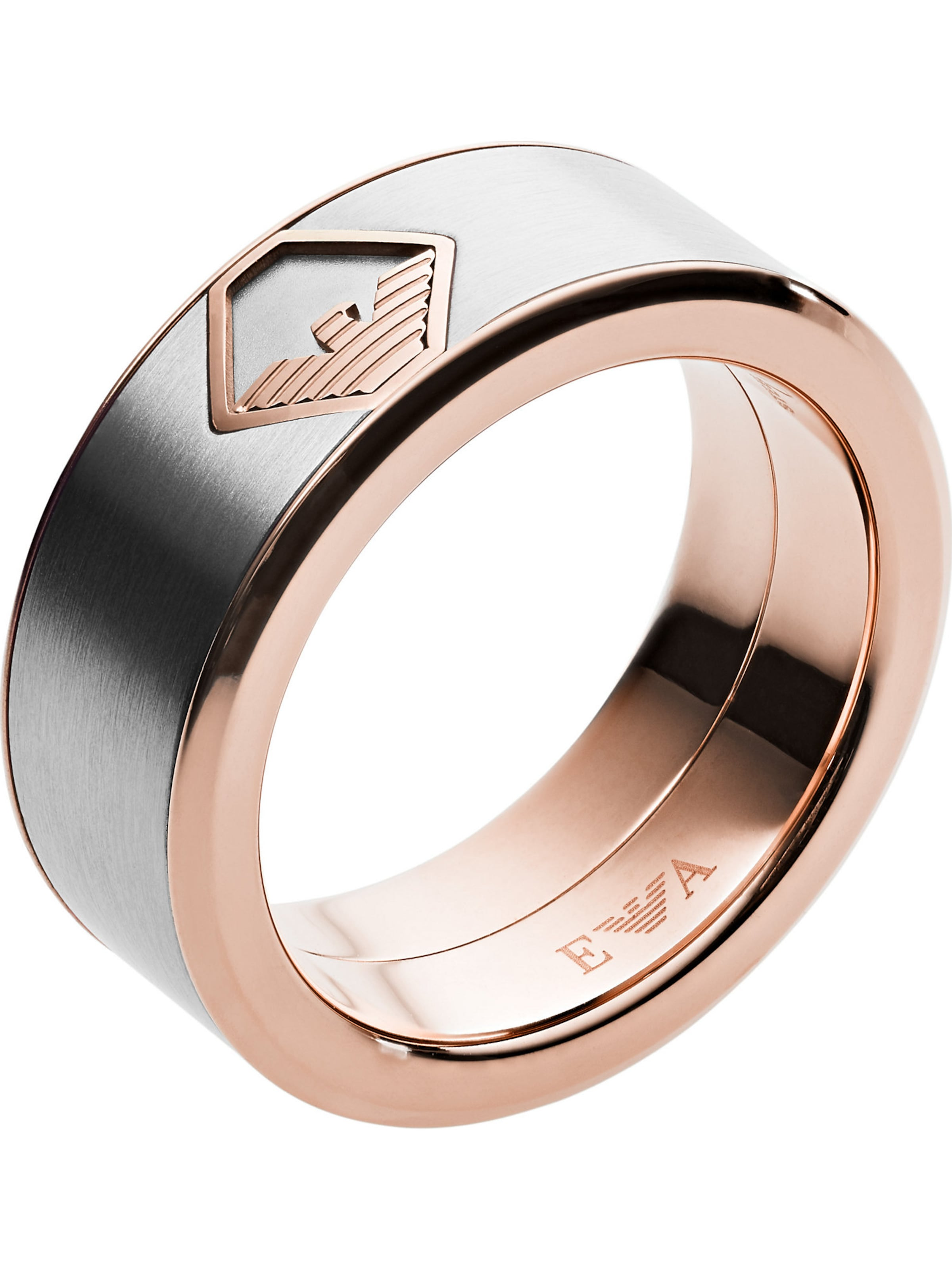 Emporio Armani In Emporio RosegoldSilber Ring Owm8n0vN