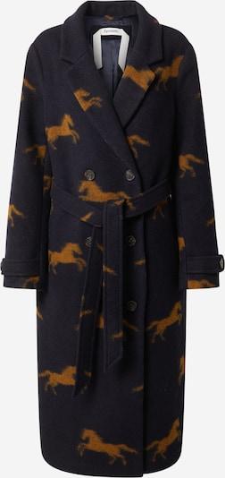 Spoom Between-seasons coat in Navy / Brown, Item view