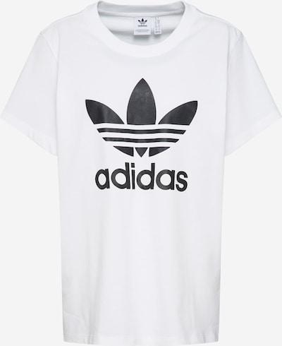 ADIDAS ORIGINALS Shirt 'Boyfriend' in schwarz / weiß, Produktansicht