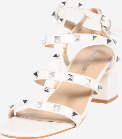 Public Desire Sandalen 'ALWAYS' in weiß, Produktansicht