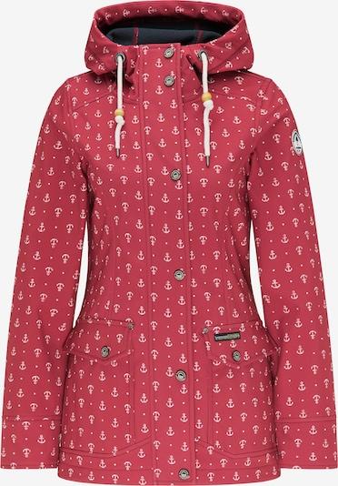 Schmuddelwedda Functionele jas in de kleur Rood, Productweergave