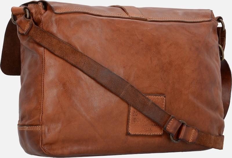 Campomaggi Garofano Messenger Businesstasche Leder 34 cm