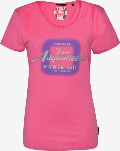 CODE-ZERO Shirt 'True Power' in de kleur Pink, Productweergave