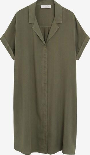 VIOLETA by Mango Kleid 'UVA' in khaki, Produktansicht