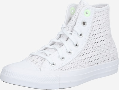 CONVERSE Baskets hautes en blanc, Vue avec produit