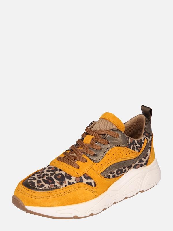 PS Poelman Sneakers laag '5614' in Geel