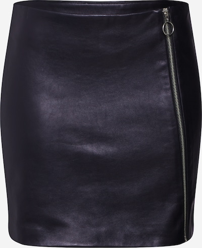 Pop Copenhagen Lederrock in schwarz, Produktansicht