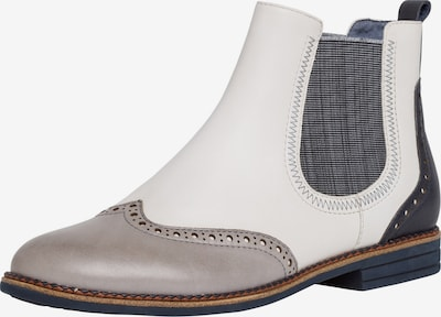 TAMARIS Chelsea Boot in nachtblau / grau / weiß, Produktansicht