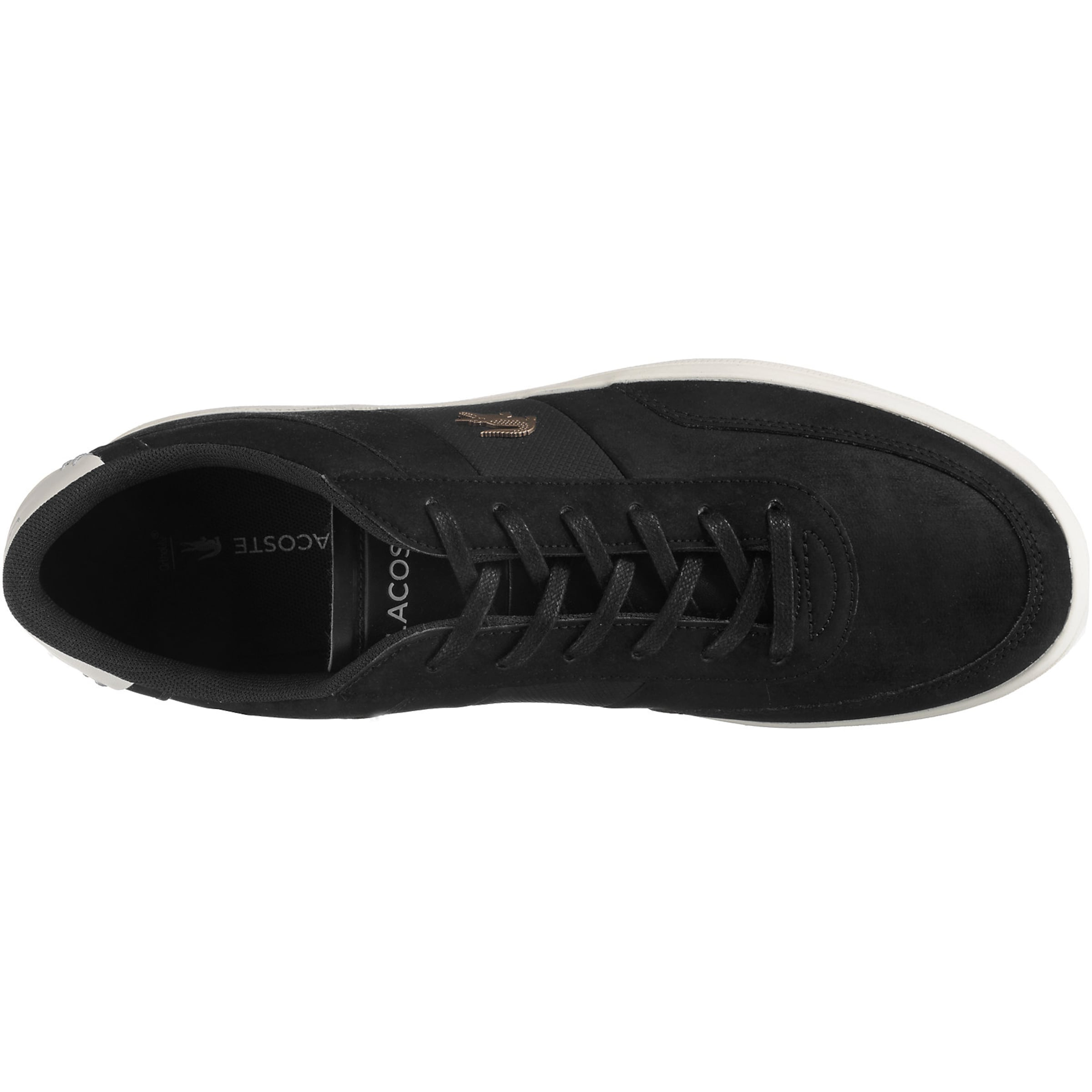 Lacoste Sneaker Schwarz 'court master' In ARjL54