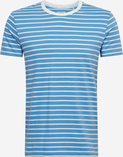 Marc O'Polo DENIM T-Shirt en bleu / blanc, Vue avec produit