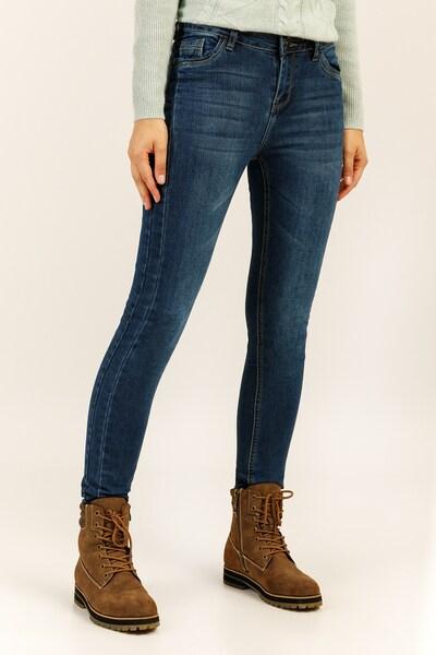 Finn Flare Jeans in blue denim, Produktansicht