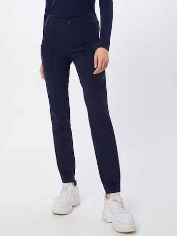 Pantaloni 'Anna' de la MAC pe albastru