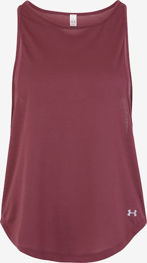 UNDER ARMOUR Sporttop 'UA Whisperlight Mesh Tank' in lila: Frontalansicht