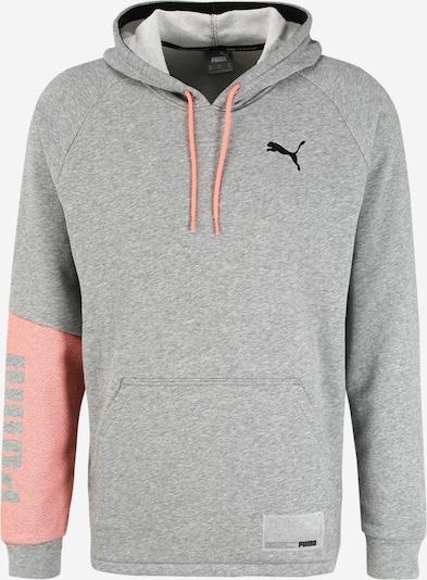 PUMA Sportovní mikina - šedá / růžová, Produkt